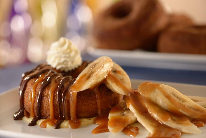 Be Our Guest breakfast menu items