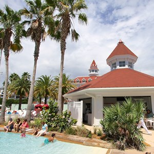 3 of 8: Beach Pool Bar - Grand Floridian Beach Pool Bar