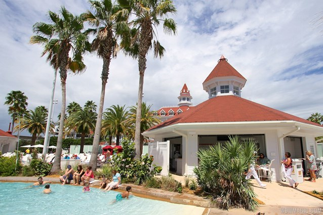 Beach Pool Bar - Grand Floridian Beach Pool Bar