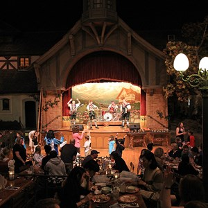 1 of 10: Biergarten - Biergarten dining room and entertainment