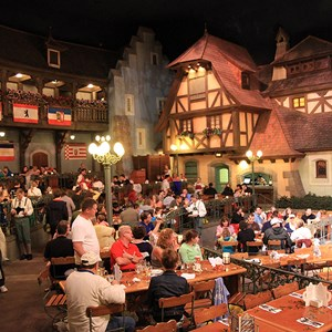 3 of 10: Biergarten - Biergarten dining room and entertainment