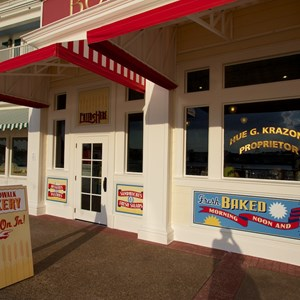 3 of 19: Boardwalk Bakery - Newly refurbished BoardWalk Bakery exterior - Bakery entrance