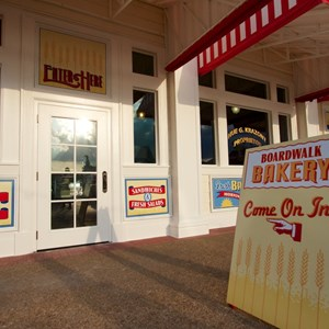 5 of 19: Boardwalk Bakery - Newly refurbished BoardWalk Bakery exterior - Come on in!