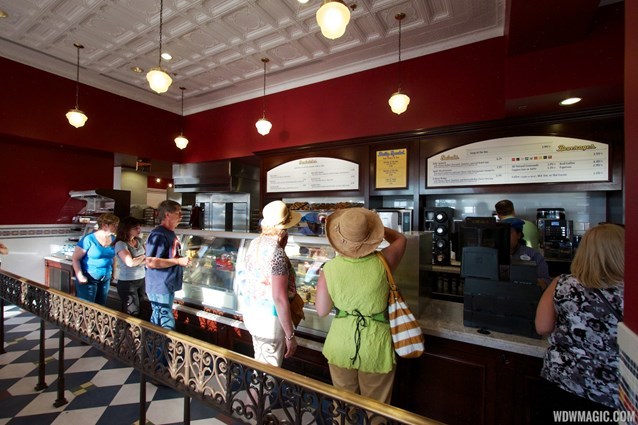 Boardwalk Bakery - Inside the new Boardwalk Bakery - queue and ordering area