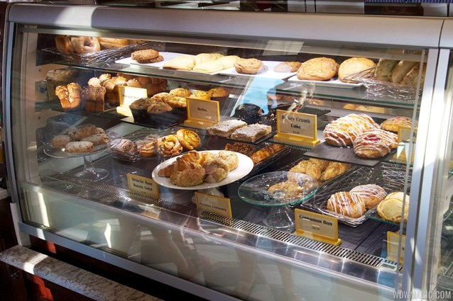 Boardwalk Bakery - Inside the new Boardwalk Bakery - Baked goods case