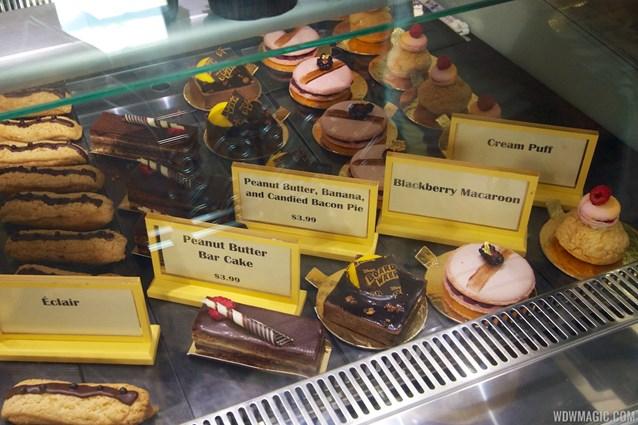 Boardwalk Bakery - Inside the new Boardwalk Bakery - Baked goods case