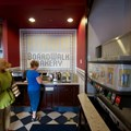Boardwalk Bakery - Inside the new Boardwalk Bakery - Fountain beverage refill area