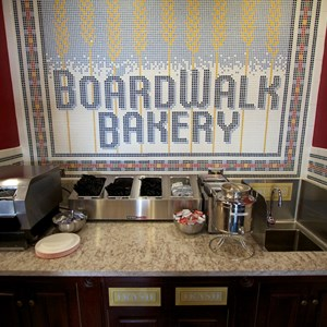 18 of 19: Boardwalk Bakery - Inside the new Boardwalk Bakery - Fountain drink area