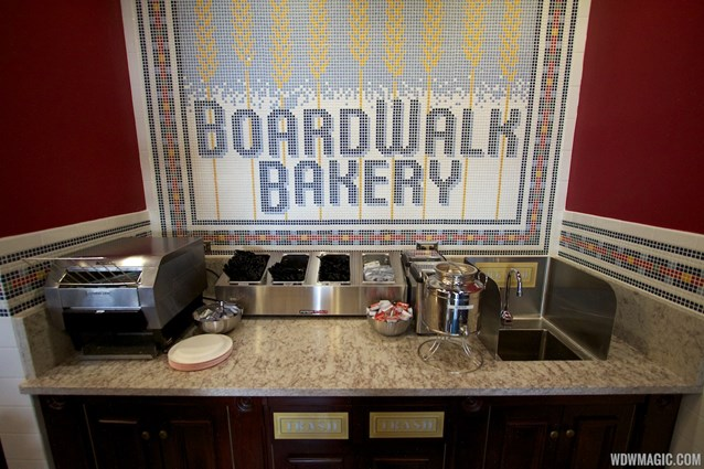 Boardwalk Bakery - Inside the new Boardwalk Bakery - Fountain drink area