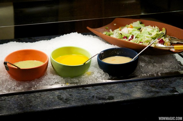 Boma - Flavors of Africa - Boma Dinner buffet food - Salad and dressings