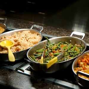 9 of 37: Boma - Flavors of Africa - Boma Dinner buffet food - Green beans
