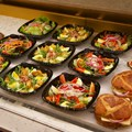 Boulangerie Ptisserie - Les Halles Boulangerie Patisserie - Salads and sandwiches