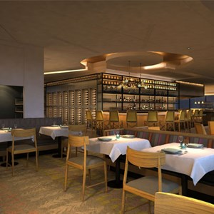 2 of 5: California Grill - California Grill 2013 refurbishment concept art