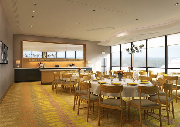 California Grill 2013 refurbishment concept art