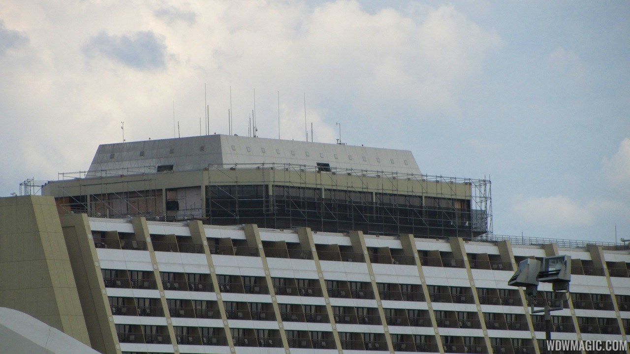 California Grill refurbishment progress