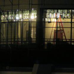 California Grill refurbishment progress