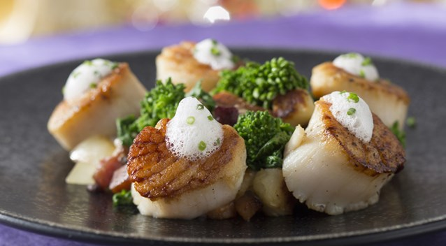 California Grill - Seared Diver Scallops at California Grill at Disney's Contemporary Resort