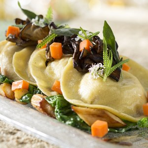 4 of 4: California Grill - Squash Ravioli at Disney's Contemporary Resort, Debuting September 9