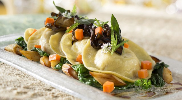 California Grill - Squash Ravioli at Disney's Contemporary Resort, Debuting September 9