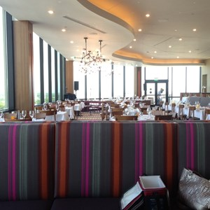 1 of 2: California Grill - Inside the newly refurbished California Grill dining room