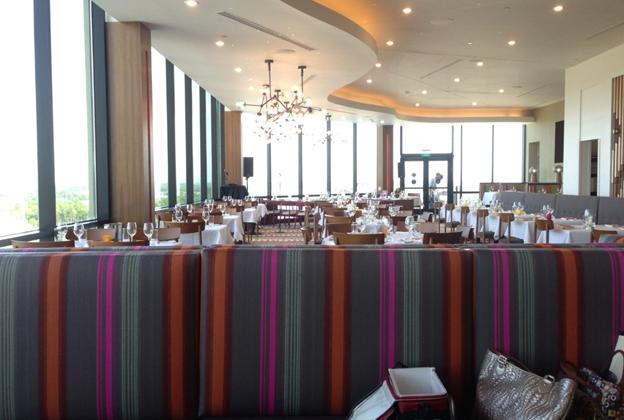Inside the newly refurbished California Grill