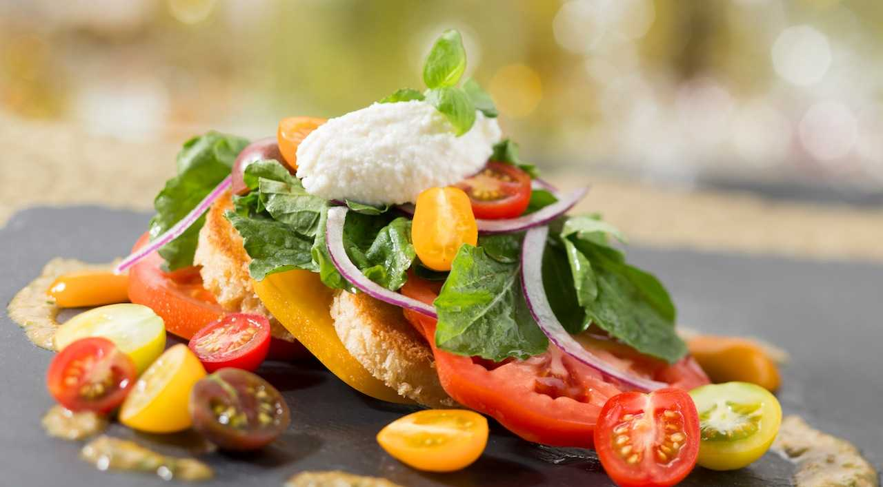 California Grill - Heirloom tomatoes