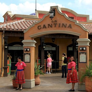 2 of 20: La Cantina de San Angel - The main entrance from the World Showcase promenade