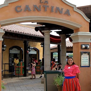 4 of 20: La Cantina de San Angel - A friendly welcome