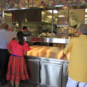 8 of 20: La Cantina de San Angel - The kitchens and pickup area