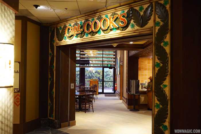 New Captain Cook's at Disney's Polynesian Village Resort