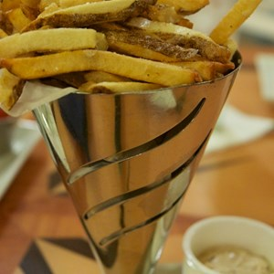 1 of 3: Captain's Grille - Captain's Grille - Hand-cut Salt and Vinegar Fries Roasted Shallot Mayonnaise