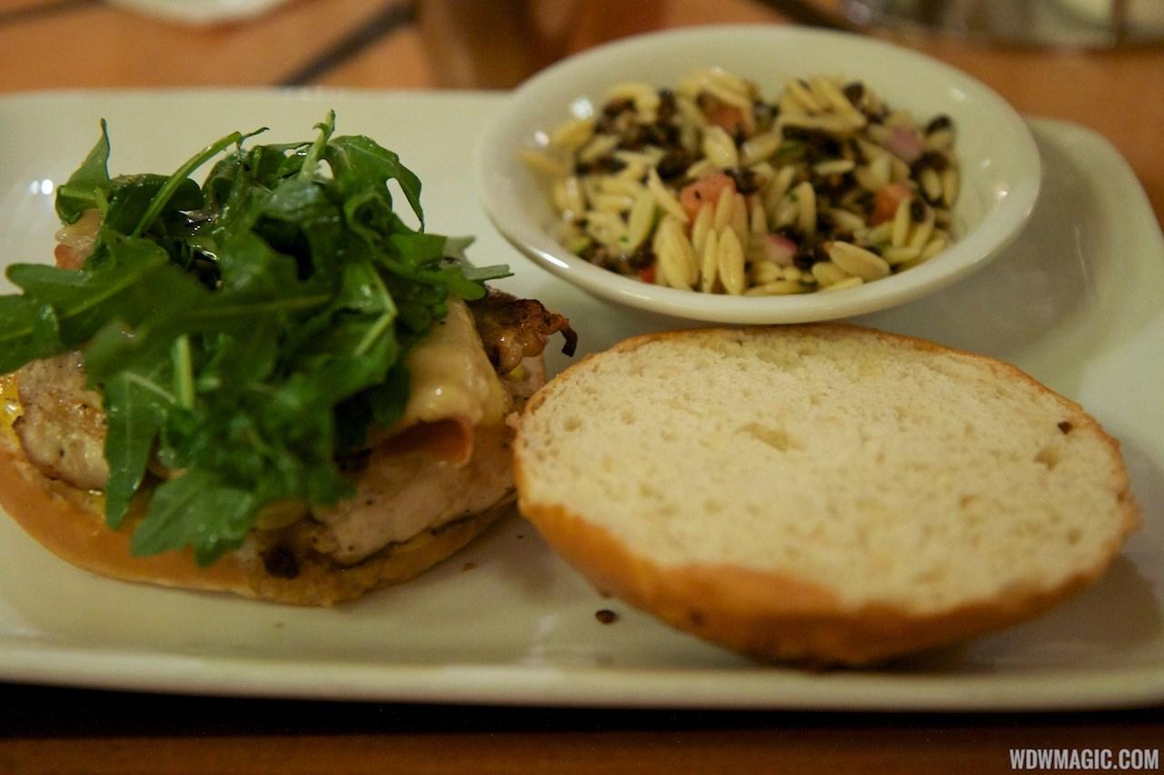 Captain's Grille lunch menu items