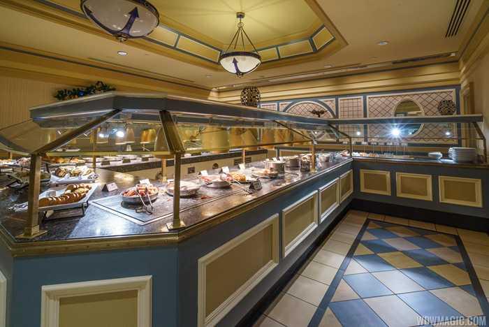 Captain's Grille breakfast buffet
