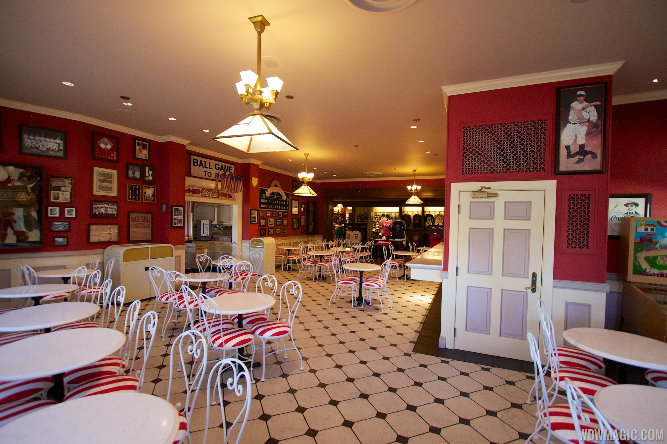The new indoor dining room at Casey's Corner