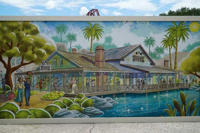 Chef Arts Florida Fish Camp concept art