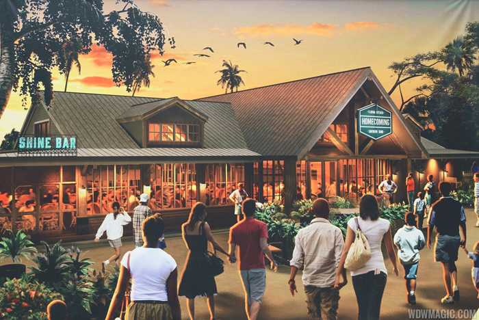 Homecoming - Florida Kitchen and Southern Shine concept art