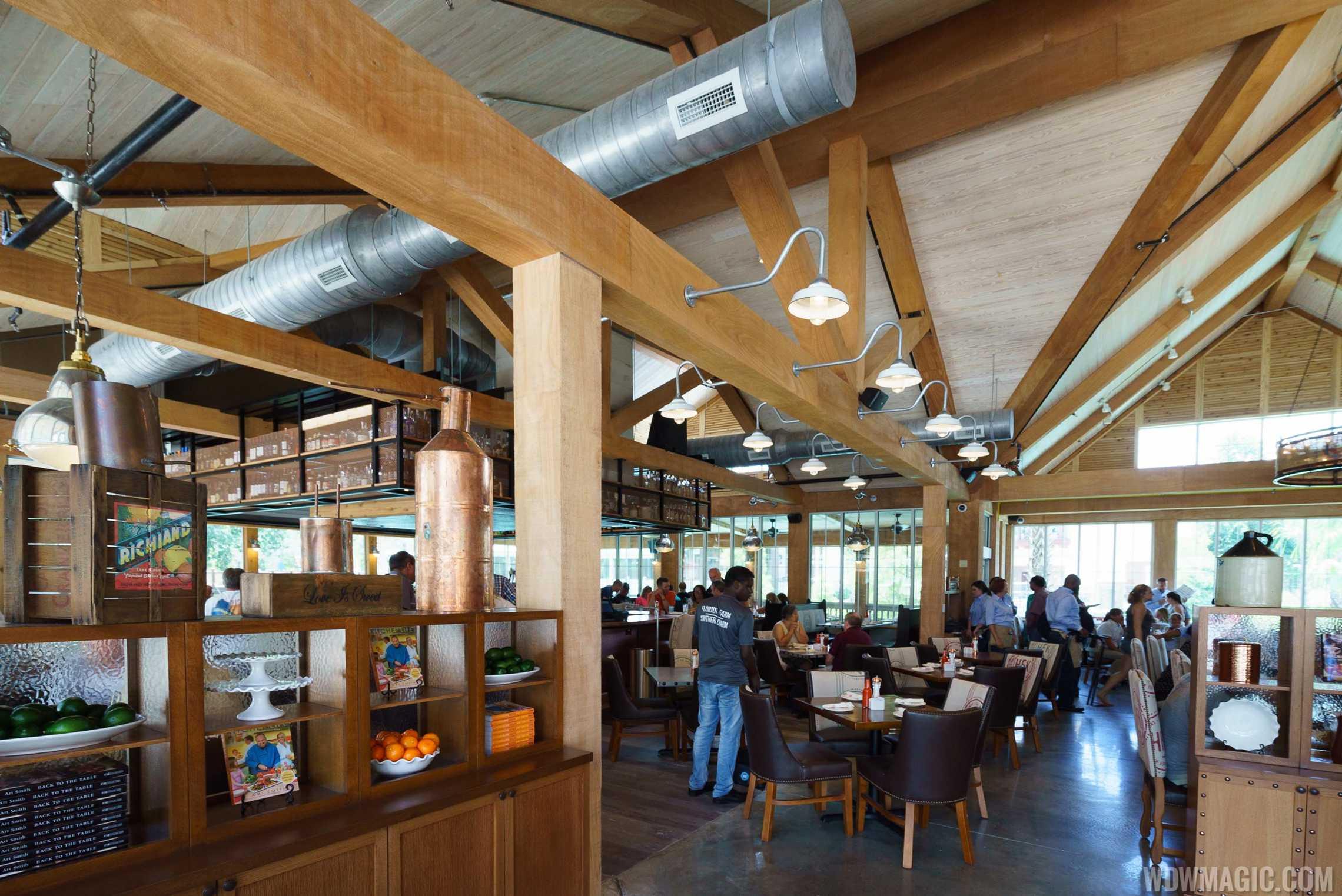 Inside Homecoming: Florida Kitchen and Shine Bar at Disney Springs