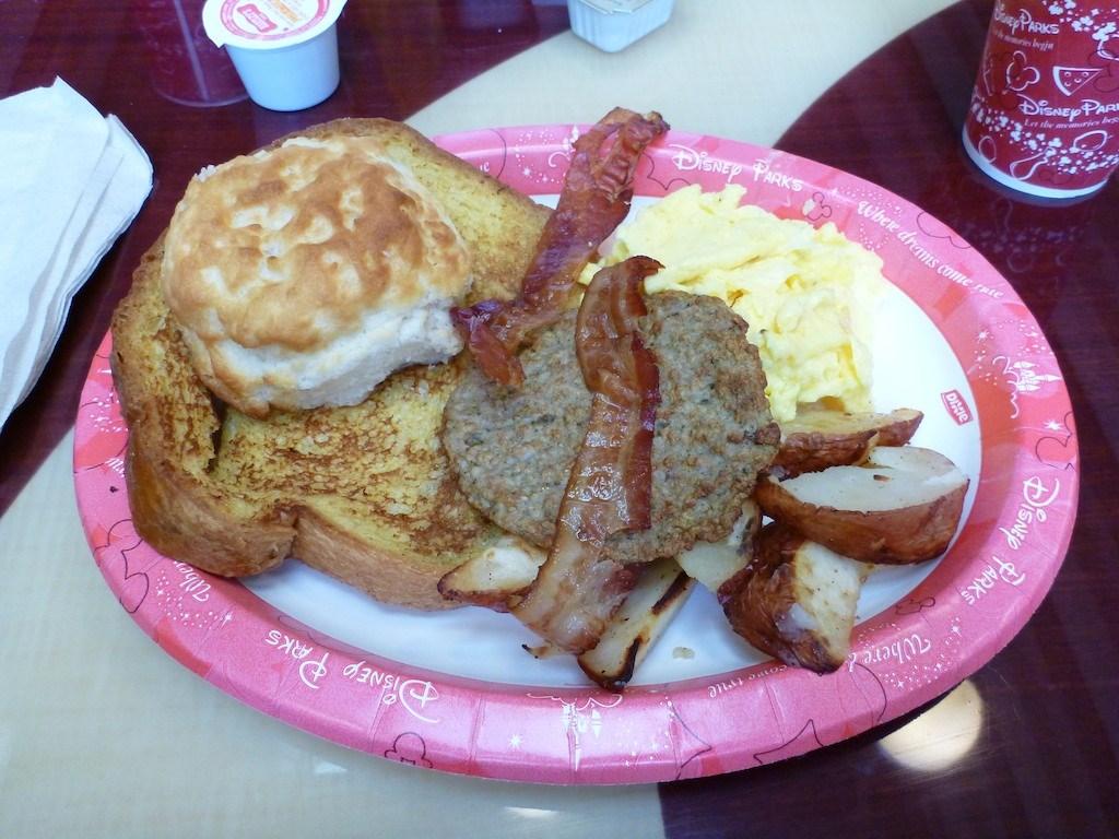 Breakfast item - Bounty Platter