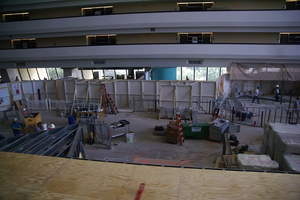 Contempo Cafe construction photos