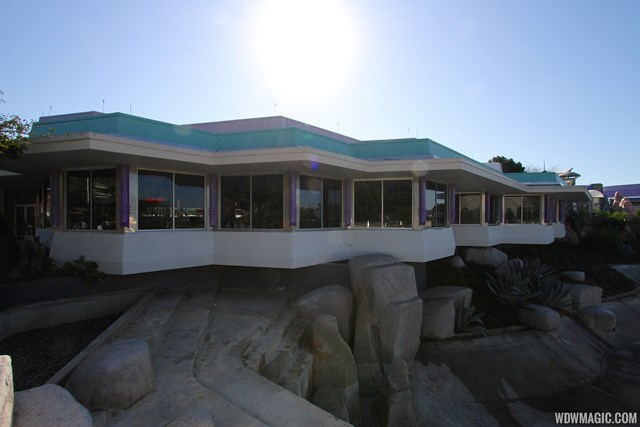 Cosmic Ray's patio enclosed - exterior view