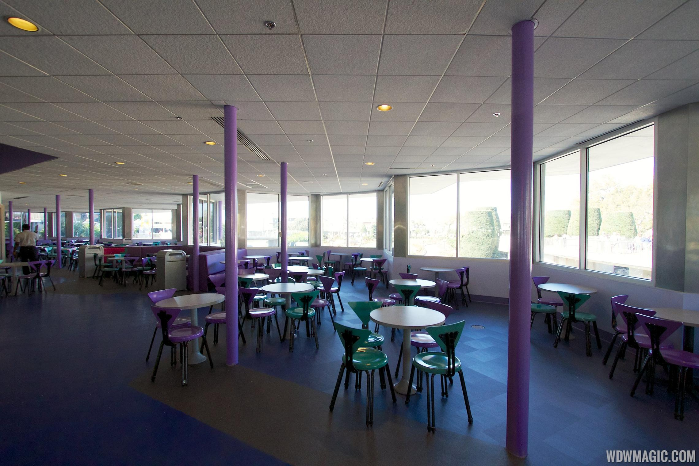 Cosmic Ray's patio enclosed - inside view