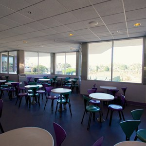4 of 6: Cosmic Ray's Starlight Cafe - Cosmic Ray's Patio enclosed