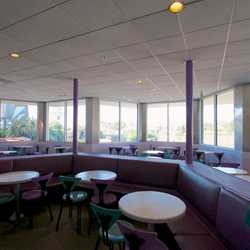 Cosmic Ray's Patio enclosed