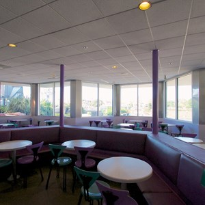 5 of 6: Cosmic Ray's Starlight Cafe - Cosmic Ray's Patio enclosed