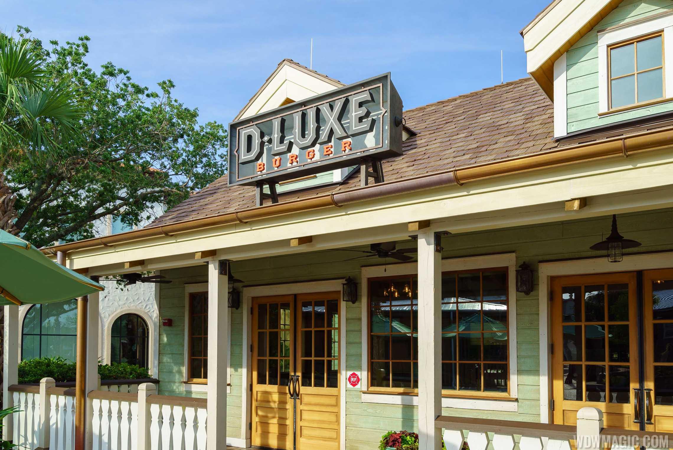 D-Luxe Burger - Entrance