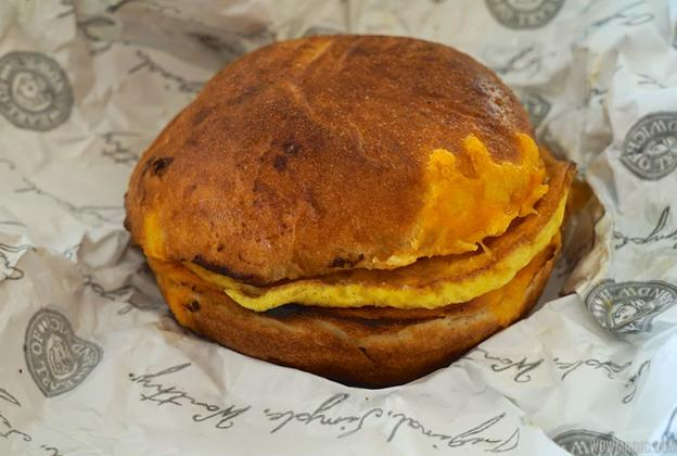 Earl of Sandwich breakfast items