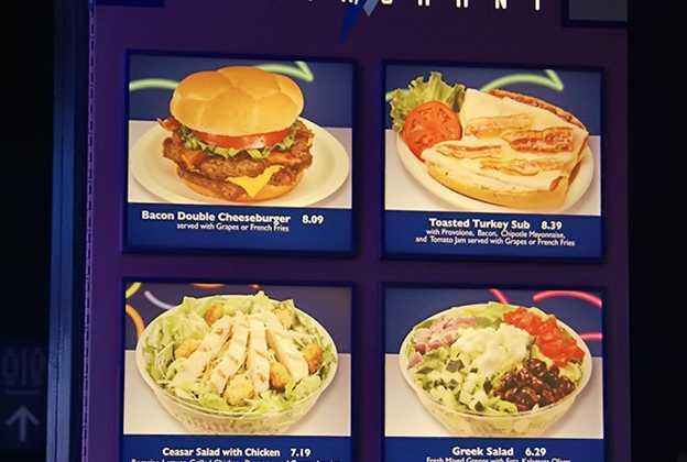 Electric Umbrella Restaurant new menu
