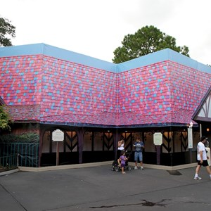 1 of 3: Cheshire Cafe - Enchanted Grove exterior refurbishment