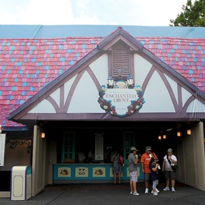 2 of 3: Cheshire Cafe - Enchanted Grove exterior refurbishment