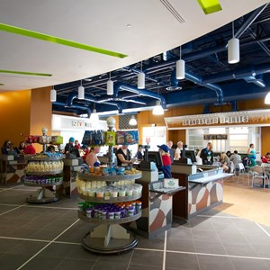 3 of 20: End Zone Food Court - New All Star Sports End Zone Food Court - Registers